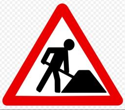 New Roadworks Banner on our website